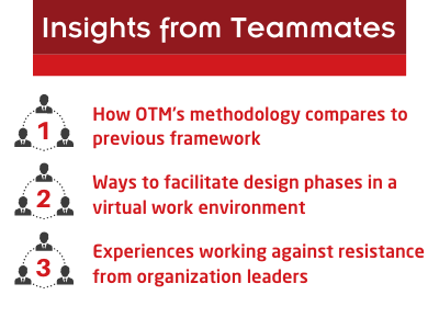 """image that outlines """"insights from teammates"""" mentioned previously"""