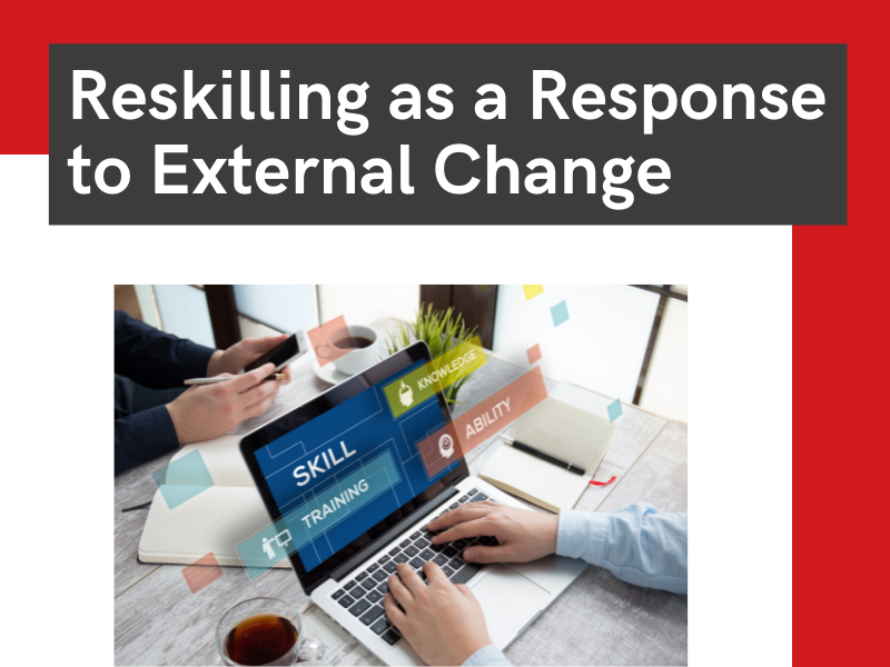 reskilling as a response to change