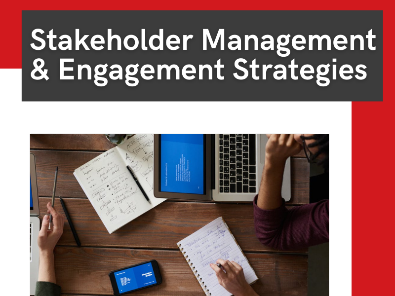 stakeholder and engagement strategies